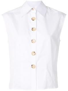 Anna Quan поплиновая рубашка Peta