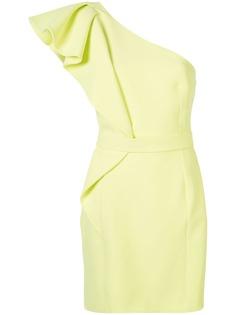 Safiyaa коктейльное платье на одно плечо