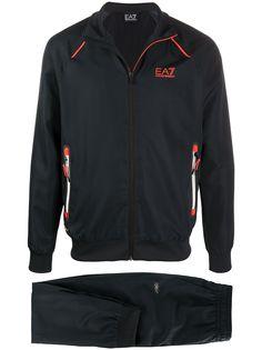 Emporio Armani спортивная куртка с капюшоном