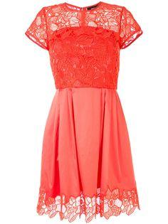 Paule Ka коктейльное платье с цветочным кружевом