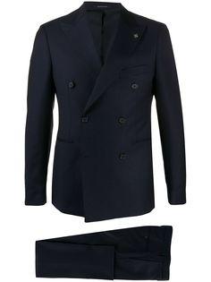 Tagliatore костюм с двубортным пиджаком