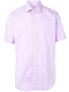 Gieves & Hawkes рубашка с короткими рукавами