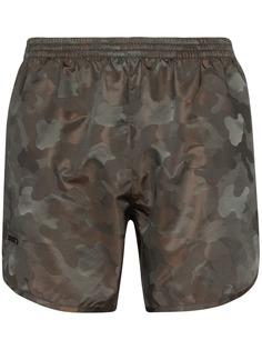 TRUE TRIBE плавки-шорты Wild Steve с принтом