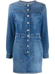3x1 джинсовое платье мини Jun