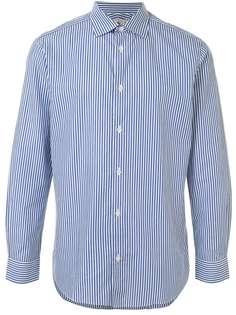 Kent & Curwen полосатая рубашка с длинными рукавами