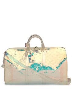 Louis Vuitton дорожная сумка Keepall Bandouliere 50 из коллаборации с Supreme