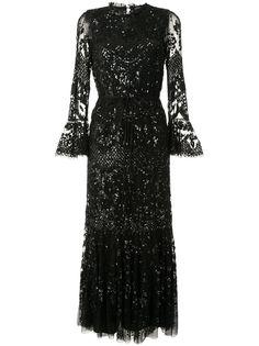 Needle & Thread декорированное вечернее платье
