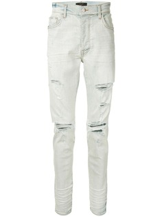 AMIRI прямые джинсы с эффектом потертости