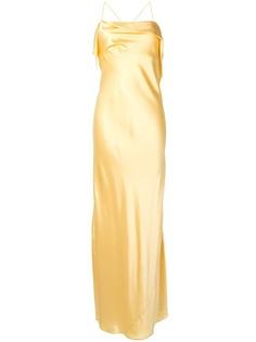 Michelle Mason коктейльное платье с драпировкой
