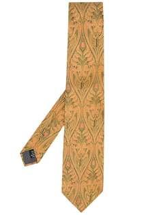 Gianfranco Ferré Pre-Owned жаккардовый галстук с цветочным узором 1990-х годов