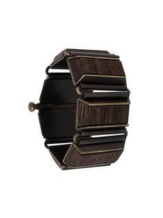 Gianfranco Ferré Pre-Owned деревянный браслет-бэнгл 2000-х годов