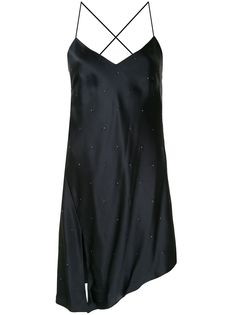 Michelle Mason коктейльное платье со стразами