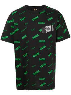 MCM футболка с надписью