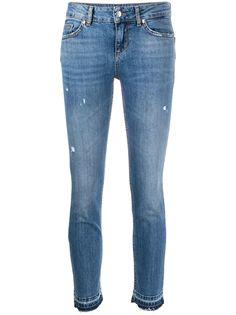 LIU JO джинсы скинни с прорезями