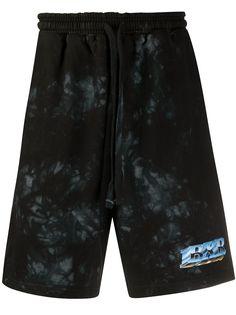 BornxRaised спортивные шорты с принтом тай-дай