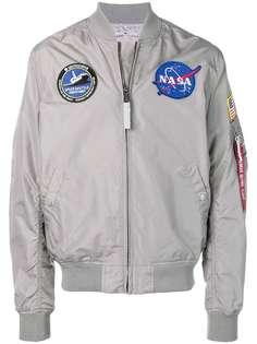 Alpha Industries куртка-бомбер с нашивкой NASA