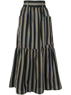 Sofie Dhoore юбка макси Sanli в полоску