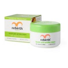 Rebirth Lanolin Anti-Wrinkle Cream with Vitamin E Крем для лица против морщин с Витамином Е и ланолином, 100 мл