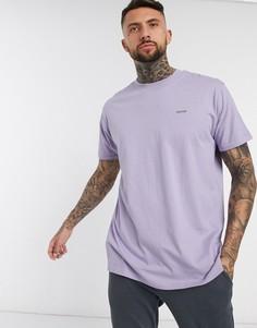 Oversized-футболка с принтом Night Addict-Фиолетовый