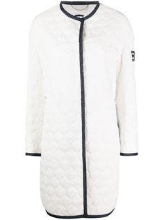 Ermanno Scervino стеганое пальто без застежки