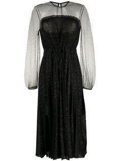 Marco De Vincenzo коктейльное платье с блестками