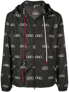 Moncler непромокаемая куртка с логотипом