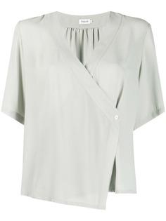 Filippa K блузка Reagan с запахом