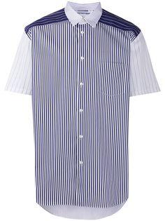 Comme Des Garçons Play рубашка в полоску с короткими рукавами