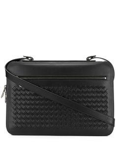 Bottega Veneta портфель с плетеной отделкой Intrecciato