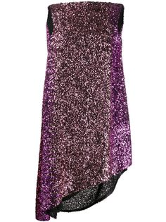 Halpern коктейльное платье с воротником-хомут