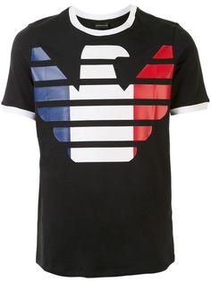 Emporio Armani футболка France с логотипом