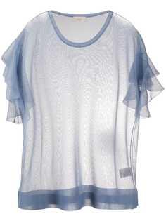 Altea футболка тонкой вязки с оборками
