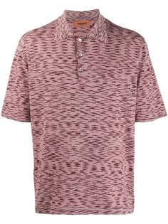 Missoni рубашка поло с узором