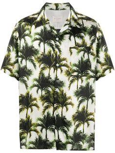 Buscemi рубашка с короткими рукавами и принтом