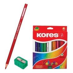 Карандаши цветные Kolores 24 Kores