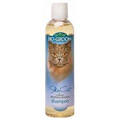 Шампунь -кондиционер Bio-Groom Silky Cat Shampoo шелковый с протеином и ланолином для кошек 237 мл