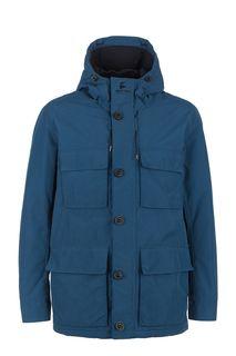 Демисезонная куртка синего цвета Barbour