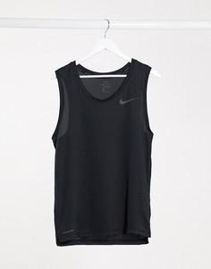Черная майка Nike Training Hyper Dry-Черный