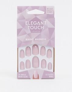 Накладные ногти Elegant Touch - Mauve Madness-Розовый