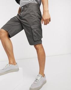 Серые шорты-карго Esprit-Серый