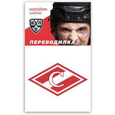 """Татуировка-переводилка """"Хоккейный клуб"""" Спартак Voice Book"""