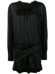 Magda Butrym коктейльное платье с жемчугом