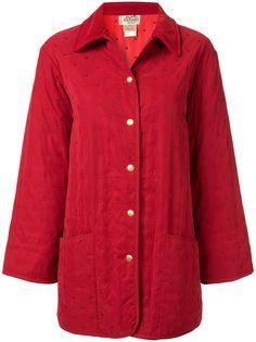 Hermès стеганое пальто