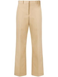 Jil Sander классические расклешенные брюки