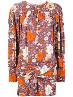 Magda Butrym коктейльное платье с цветочным принтом