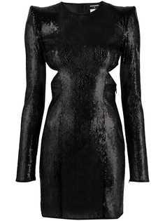Dsquared2 коктейльное платье с пайетками