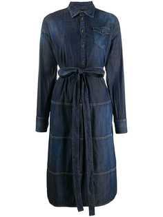 Dsquared2 джинсовое платье-рубашка