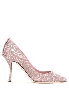 Dolce & Gabbana туфли-лодочки с кристаллами