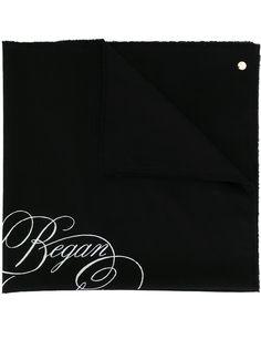 Ann Demeulemeester шейный платок с принтом