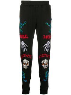 KTZ спортивные брюки с принтом